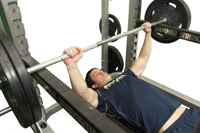 Static Contraction Bench Press
