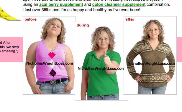 Jenny And Nicholle Before And After Weight Loss Ad 2
