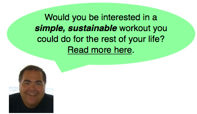 Sustainable Workout for a Lifetime