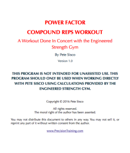 Compound Reps Workout