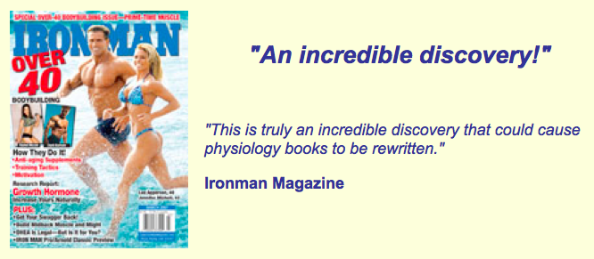 Ironman Magazine on Static Contraction