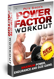 Power Factor Workout - Power, Endurance & Size edition
