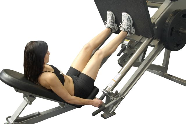 Static Contraction Leg Press