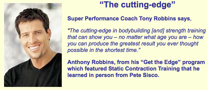 Tony Robbins on Static Contraction